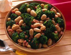 Broccoletti con fagioli