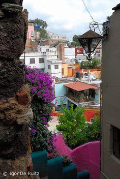 Una vista linda de Guanajuato