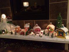 Christmas grinch village