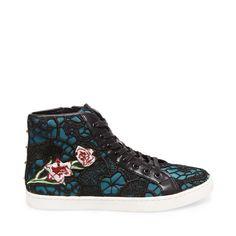 Femme, Sneaker, Ecentrcv, Multicolore (Floral), 38Steve Madden