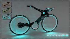 WinCicle #Tron #bicycle