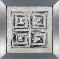 Fourbro Frames R38381VME kinetic tile II Canvas Artwork, Artwork Prints, Tile, Frames, Home Decor, Art On Canvas, Mosaics, Decoration Home, Room Decor