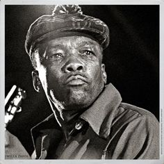 John Lee Hooker by Bluesoundz Radio, via Flickr. I love this portrait of John Lee - in your face, just like Detroit. Rhythm And Blues, Jazz Blues, Blues Music, Mississippi Fred Mcdowell, Smooth Music, William Christopher, John Lee Hooker, Delta Blues, Blues Artists