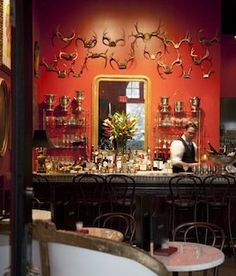 Bar Les Freres, St. Louis. Gorgeous interior.
