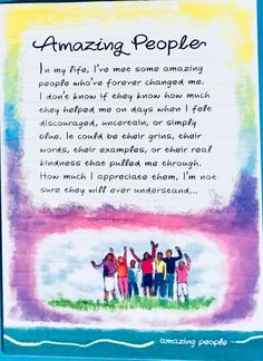 Thank You Quotes Discover Amazing People greeting card illustrated water color quote Ashley Rice gift appreciation office friend mentor Thank You Quotes For Friends, Thank You Quotes Gratitude, Special Friend Quotes, Thankful Quotes, Happy Quotes, Positive Quotes, Amazing Friend Quotes, Friend Poems, Amazing People Quotes