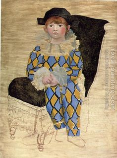 Paolo as Harlequin, 1924 Pablo Picasso