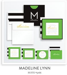 Bat Mitzvah Invitation Suite 5166 - Madeline Lynn