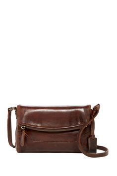 Frye - Melissa Leather Foldover Crossbody at Nordstrom Rack. Free Shipping on orders over $100.