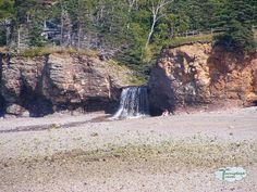Waterfall in Digby Nova Scotia Visit Nova Scotia, Cape Breton, Canada Travel, East Coast, Road Trips, Prayer, Places To Go, Most Beautiful, Waterfall