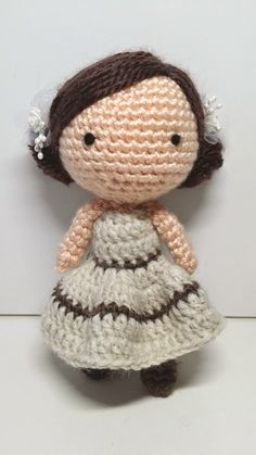 Monkey BooBoo Crochet: Mocha Girl (Free Pattern)