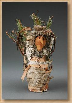 Wise Tree Woman by Monika Shedden