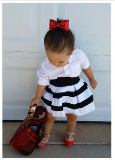 Ohhh my gosh!!!!! Seriously love the whole outfit ❤ valentino shoes from coolkidsbklyn