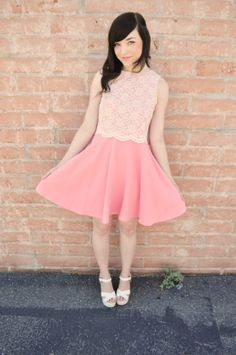 simple and chic, pretty in pink