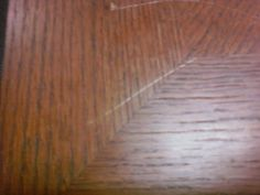 How To Quickly Fix A Scratch In A Wood Table