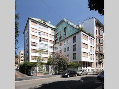 Edificio per abitazioni e uffici - Asnago e Vender - itineraries - Ordine degli architetti, P.P.C della provincia di Milano
