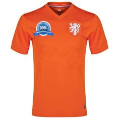 Netherlands 2014 World Cup Home Jersey sale $48.99 at: 2014worldcupjersey.net