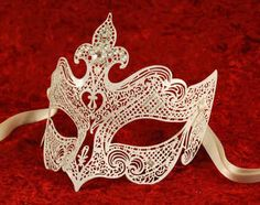 Looking for Luxury Venetian Metal Mask White Wedding? Compare prices for Luxury Venetian Metal Mask White Wedding, find the best offer in hundreds of online stores! White Masquerade Mask, Halloween Masquerade, Masquerade Party, Girly Things, Girly Stuff, Random Things, Venetian Masks, Family Jewels, Luxury Wedding