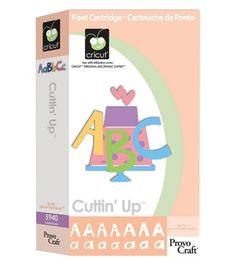 Cricut Font Cartridge Cuttin' Up, , hi-res