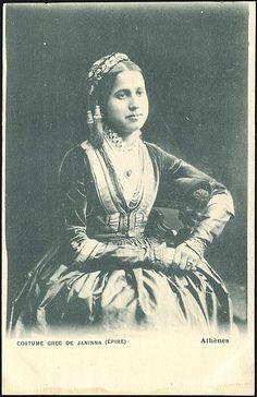COSTUME GREC DE JANNINA (EPIRE) 19th-20th century