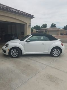 My new beetle 2017 VW turbo convertible