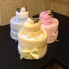 Mini nappy cakes , I have made