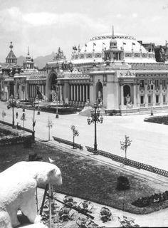 Pavilhão de Festas, Rio de Janeiro, 1910, onde atualmente está a Avenida Presidente Wilson, Rio de Janeiro.