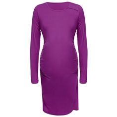 Gray Newest Women New Fashion Long Sleeve Maternity Pregnant Casual Dresses