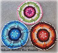 Ravelry: Hakuna Matata Mini Mandala pattern by zelna olivier