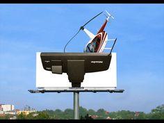 ADC Gewinnergalerie Billboard Design, Guerilla Marketing, Art Direction, Street Art, Advertising, Packaging, Branding, Layout, Outdoor