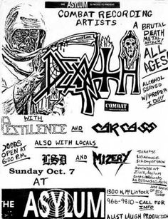 Classic Flyer from 1990. \m/