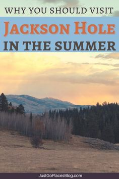 Everyone knows of Jackson Hole skiing but a Jackson Hole summer is special too!! Things to do in Jackson Hole include plenty of summer vacation ideas if you are visiting Jackson Hole with kids. Jackson hole Wyoming summer bucket lists include outdoor adventure activities, like hiking, cycling etc. Also, Jackson Hole things to do can incorporate a Jackson Hole Yellowstone itinerary. Check out the Jackson Hole restaurants and Jackson Hole hotels because Jackson Hole WY has no off-season! Jackson Hole Restaurants, Jackson Hole Hotels, Jackson Hole Skiing, Jackson Hole Wyoming, Summer Bucket, Summer Travel, Vacation Trips, Vacation Ideas, Travel Usa