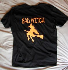A bad witch's blog: Shopping: My New Bad Witch T-Shirt