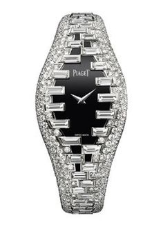 Diamond Zipper watch by Piaget