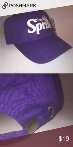 Dirty Sprite Dad Hat NEW W TAG This Purple Strapback Dad Hat is adjustable with tuck pocket NEW___Ignore tags: huf, weed, marijuana, kush, obey, stussy, dope, trill, Blvck, boy london, paris, joggers, trap style, rave, rare, huf, blvck fashion, trill, pipe, dabber, glass, sad, me, goth, goth girl, woes, the six, 6ix, ovo, blvck, Brooklyn, London, pikachu, 6 God, glitter, naps, mobb, asap, long style, Ovo, snapback, pastel, Brandy, American, urban, anti social club Accessories Hats