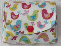 Fabric money purse wallet pouch handmade UK seller by SewBitsy, £8.00