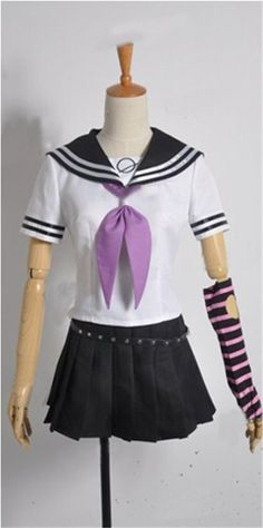 Vicwin-One Dangan Ronpa2 Mioda Ibuki Cosplay Costume -- Want additional info? Click on the image.