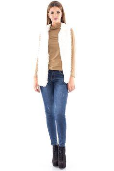 Vesta pufoasa - JR243 Casual, Pants, Fashion, Trouser Pants, Moda, Fashion Styles, Women's Pants, Women Pants, Fashion Illustrations