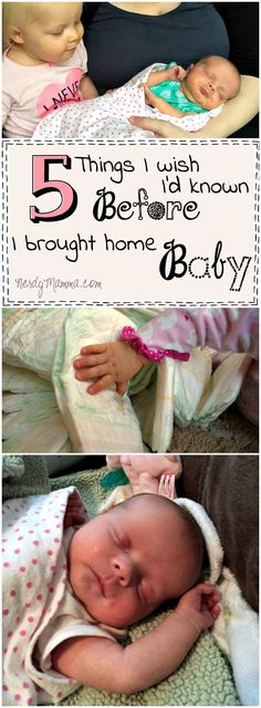 These 5 Things this mom wishes she'd known before she brought her baby home So precious...and so sweet. I kind of wish I'd known that, too...especially #2. #ad #secondhug