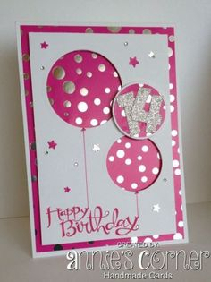 Beautiful Handmade Birthday Cards