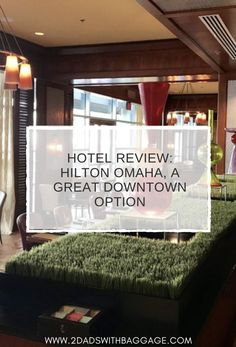 On a recent business trip for Omaha Steaks, I was booked into the Hilton Omaha sight unseen. It was a pleasant surprise beyond the regular big box hotel platform Best Family Vacations, Family Vacation Destinations, Vacation Resorts, Vacation Ideas, Travel Destinations, Hotel Hacks, Quick Weekend Getaways, Affordable Vacations, Need A Vacation