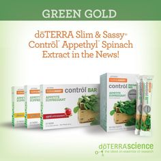 Green Gold: Slim & Sassy Control Appethyl Spinach Extract in the News!