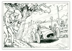 Car Illustration, Illustrations, Ex Libris, Pin Up, Comics, Art, Graphic Design, Car, Art Background