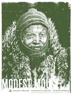 Modest Mouse - Eugene Poster