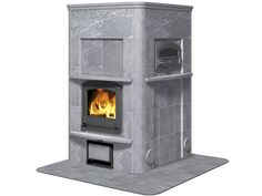Wood heating stove / traditional / soapstone / with oven TULIKIVI Soapstone Wood Stove, Diy Wood Stove, Wood Oven, Wood Burning Cook Stove, Built In Ovens, Stove Oven, Rocket Stoves, Water Heating, Fireplace Design