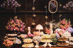 Decoração Romântica e Rústica | Vestida de Noiva | Blog de Casamento por Fernanda Floret