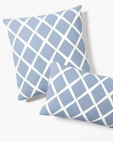 Check out the Diamond Pillow Cover and the rest of our unique Pillow Covers at Serena and Lily. Designer Throw Pillows, Decorative Throw Pillows, Pillow Arrangement, Formal Living Rooms, Color Stories, Guest Bedrooms, Lumbar Pillow, Decoration, Accent Pillows
