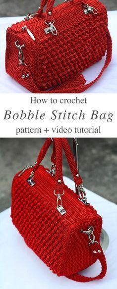 Crochet Zpagetti Handbag Free Pattern Crochet Handbag Free