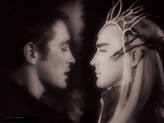 Lee Pace and Thranduil