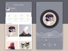 Music App  by Kang . T