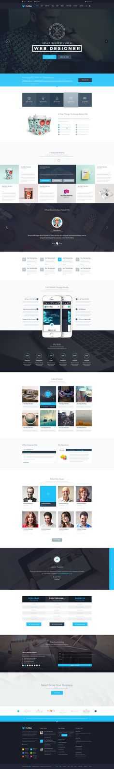 TheFox | Multi-Purpose PSD Template | ThemeForest - If you are a designer and Do you want to make a website? Choose TheFox right now. It will save your time.